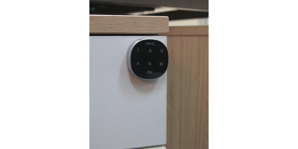 Fechadura Papaiz Eletrônica P/ Móveis M1602