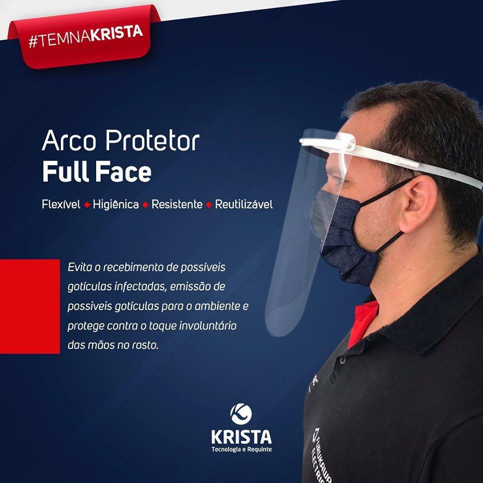 Máscara De Proteção Facial Full Face Shield