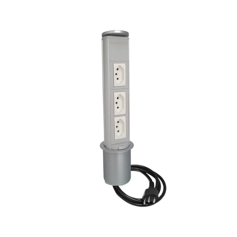 Torre de tomada manual - 3 Elétricas