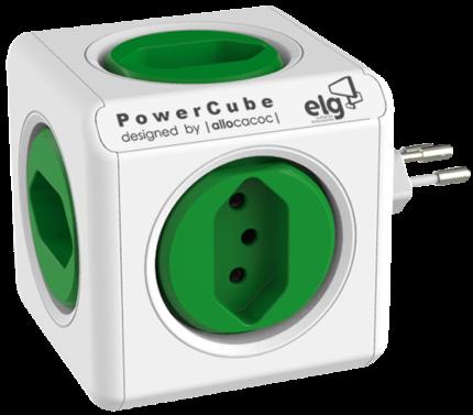 Multiplicador PowerCube 5  tomadas   PWC-R5