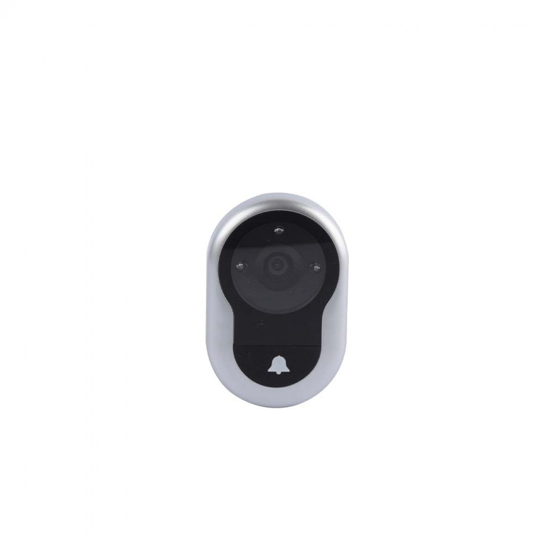 Olho Mágico Digital Real View Pro C/ Tela Lcd  e Campainha Integrada Yale