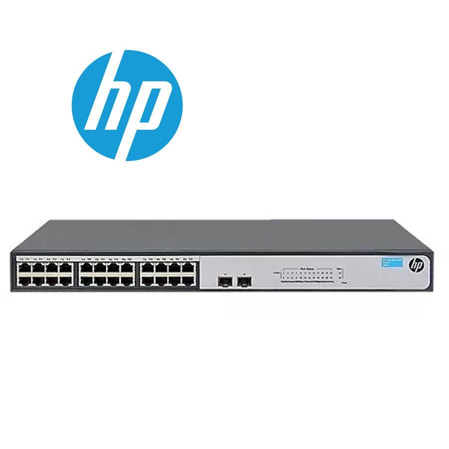 Switch 24P 10/100/1000 + 2 SFP Giga Não Gerenciável JH017A