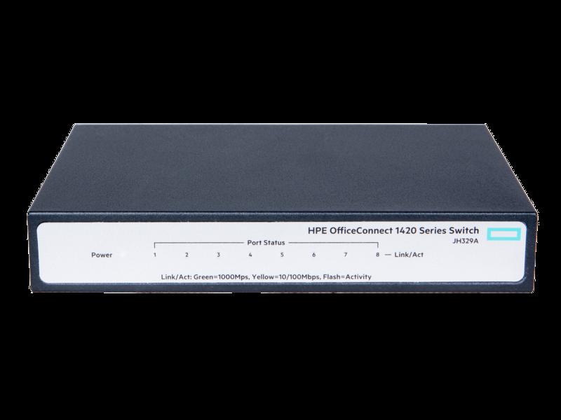 Switch 8P 10/100/1000 JH329A