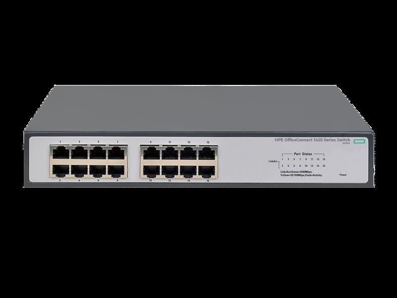 Switch 16P 10/100/1000 JH016A