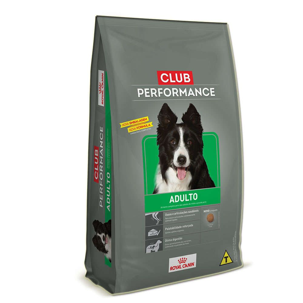 Ração Royal Canin Club Performance para Cães Adultos 15Kg