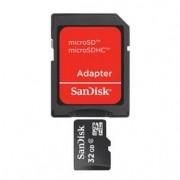 Cartão de Memória Sandisk microSDHC com Adaptador - 32GB