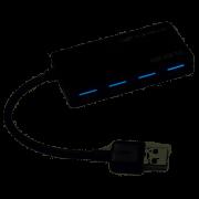 Hub 4 portas USB 3.0 - HU-310BK - C3Teck
