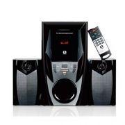 Mini System Speaker 2.1 Bluetooth Sd Usb 44w Rms Sp-365b - C3 Tech