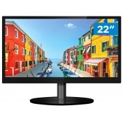 "Monitor para PC PCTop MLP220HDMI 22"" LED IPS - Widescreen HD HDMI VGA"