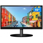 "Monitor para PC PCTop Slim MLP190HDMI 19"" LED - IPS Widescreen HD HDMI VGA Altura Ajustável"