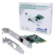 Placa De Rede 10/100/1000Mbps PCI Express Gigabit