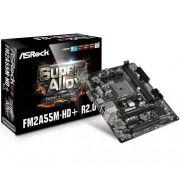 Placa Mãe ASRock p/ AMD FM2+ mATX FM2A55M-HD+ R2.0 DDR3