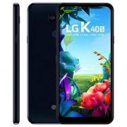 "Smartphone LG K40S Preto 32GB, Tela 6,1"" HD"