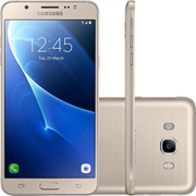 "Smartphone Samsung Galaxy J7 Metal Dual Chip Android 6.0 Tela 5.5"" 16GB 4G Câmera 13MP - Dourado"
