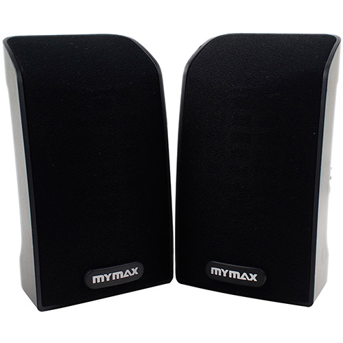 CAIXA DE SOM  MYMAX 2.0 USB 3W RMS PRETO