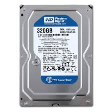HD WESTERN DIGITAL 320 GB SATA II 7200RPM MODELO PN WD3200AAJS