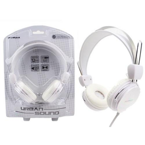 Fone De Ouvido Mymax Estéreo Urban Sound Branco - Mhp-Ht373-Wh