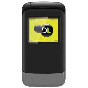 Celular DL YC230 Preto - Dual Chip, Tela de 1.8, Câmera, Rádio FM e Bateria de Longa Duração