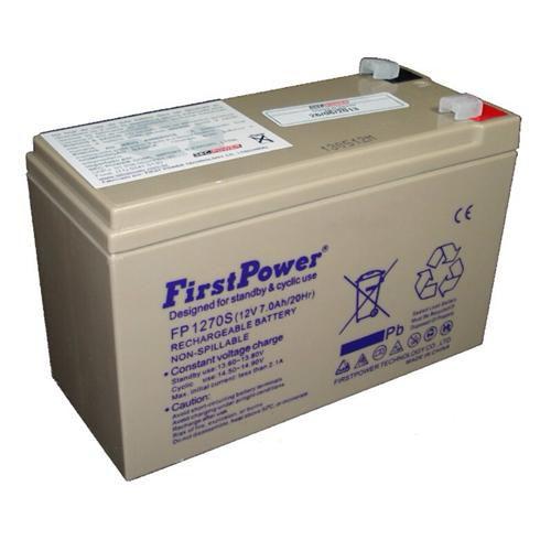 BATERIA SELADA 12V 7AM FIRST POWER-SEC POWER