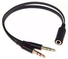 Cabo Adaptador P3(p2 Combo) Fone E Microfone Headset