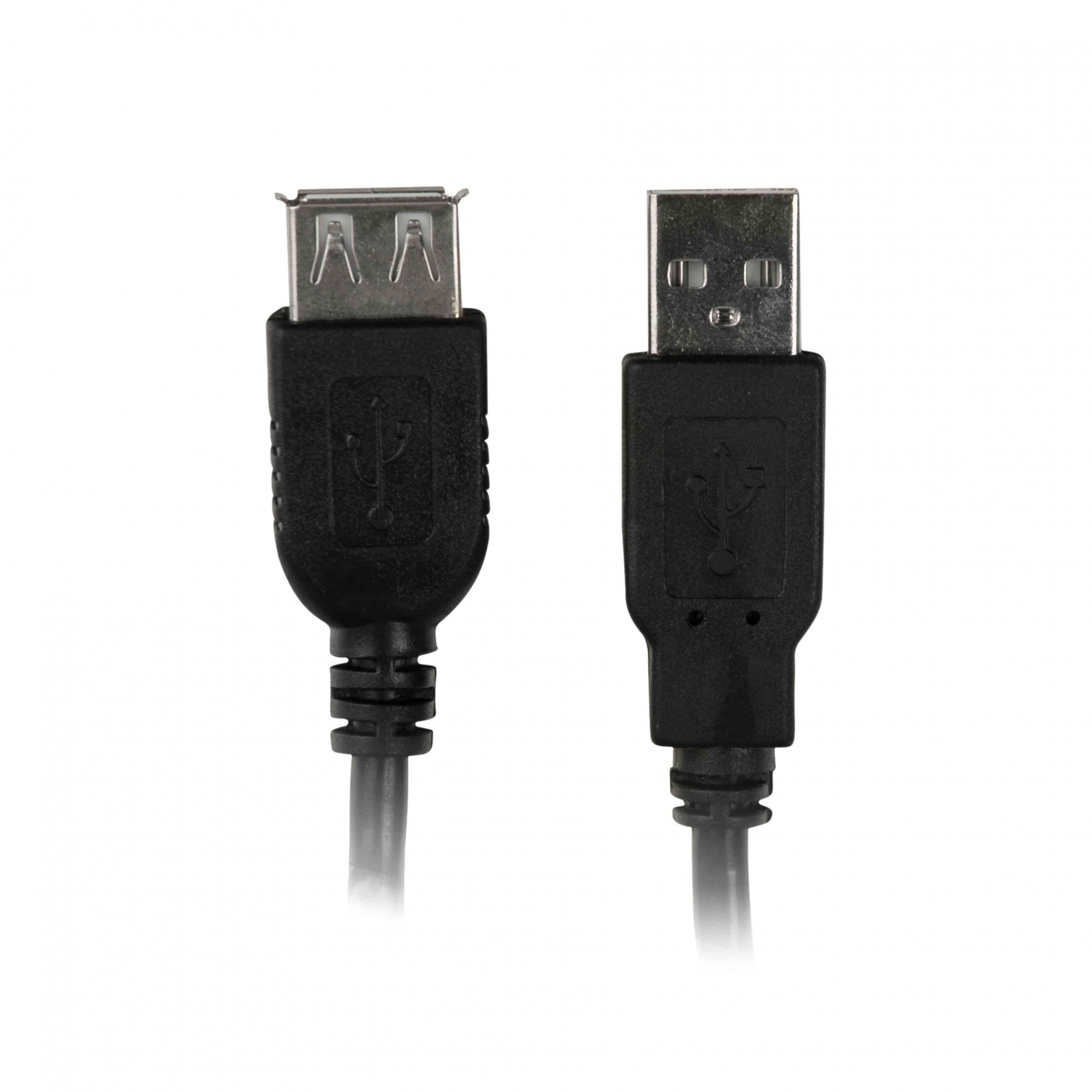 Cabo Extensor para USB 2.0 AM X AF 1.8M PC-USB1802 Pluscable