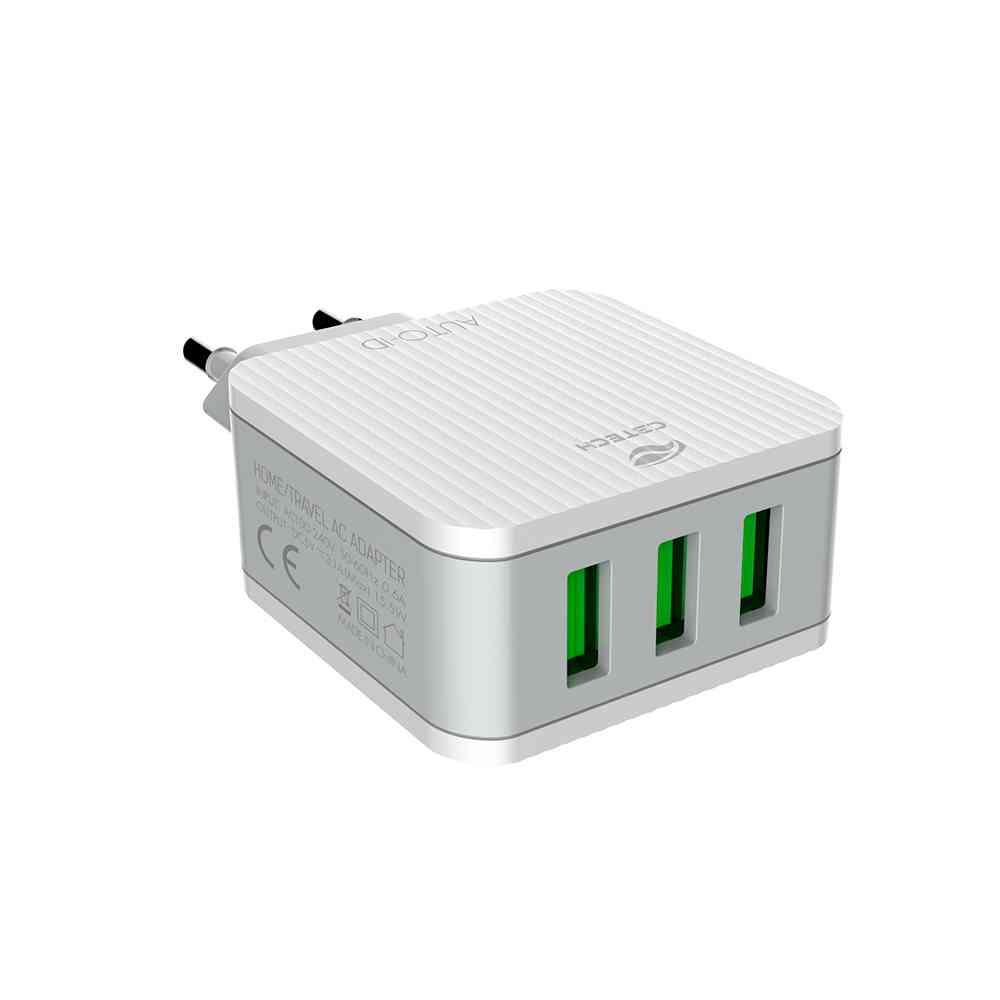 Carregador Universal AC/USB UC-315WH C3Tech