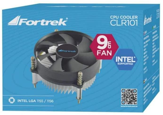Cooler para Cpu, Fortrek, Clr-101