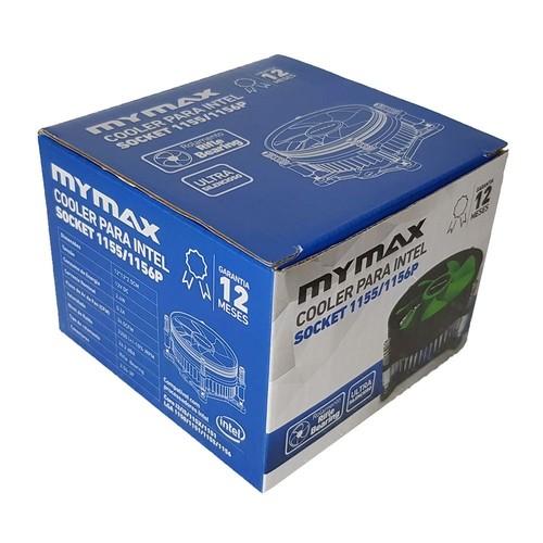 Cooler para Intel socket 1155/1156P - MYMAX