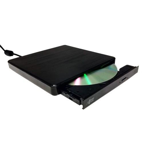 Drive Óptico Externo Bluecase Gravador de CD/DVD BGDE-03 - Bluecase
