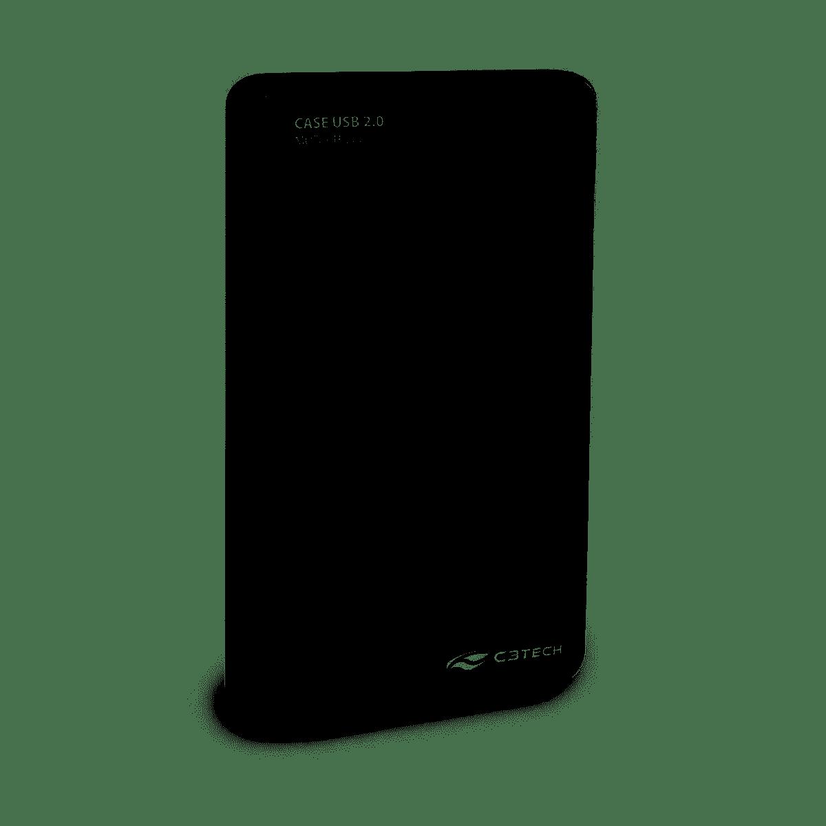 """Gaveta Case pra HD externo 2,5"""" USB 2.0 CH-200GY"""