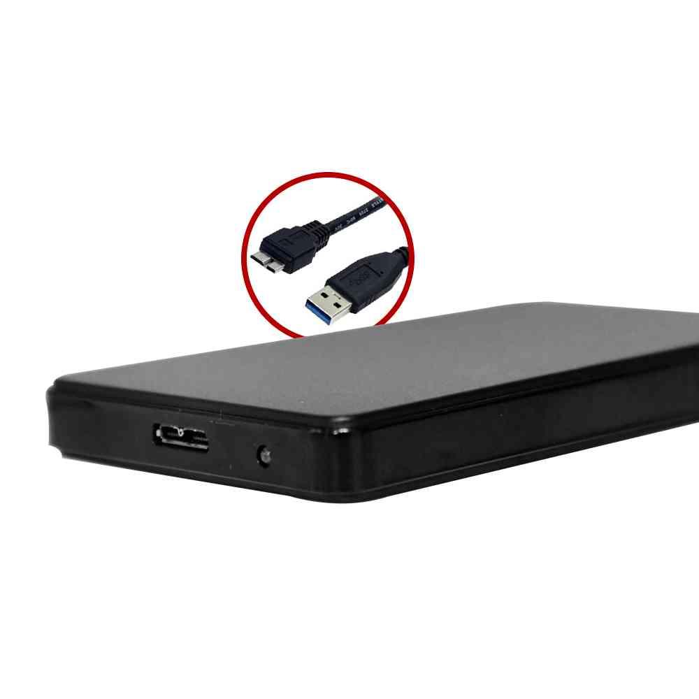 "Gaveta para HD Externo 2,5"" CH-300BK USB 3.0 C3Tech PRETO"