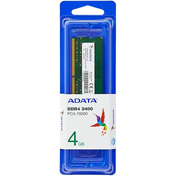 Memória Adata AD4U2400J4G17-S 4GB 2400MHz DDR4