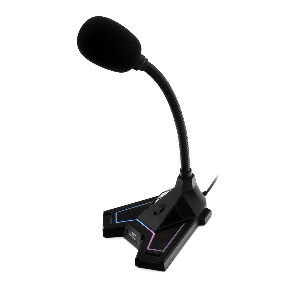 Microfone USB Gamer MI-G100BK C3Tech