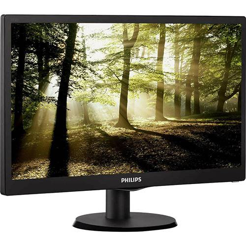 "Monitor LED 18,5"" Widescreen Philips  HD"