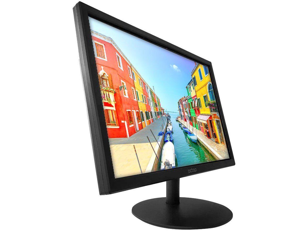 """Monitor para PC PCTop MLP220HDMI 22"""" LED IPS - Widescreen HD HDMI VGA"""