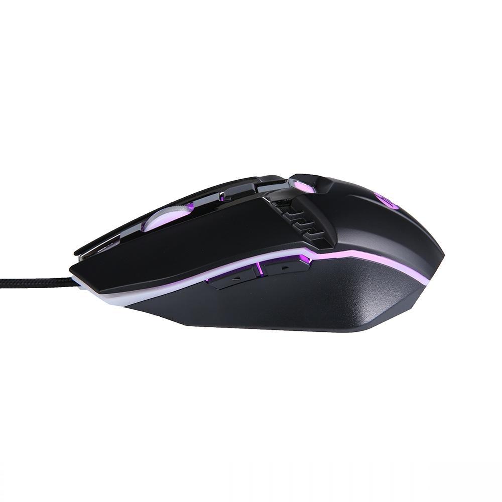 Mouse Gamer USB M270 2400DPI LED Preto HP