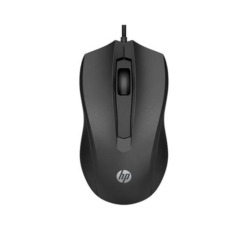 Mouse Usb 100 1600dpi Preto Hp