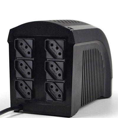 No-break Ups Mini 500va 1BS 6 tomadas Mono 115v 331 Ts Shara