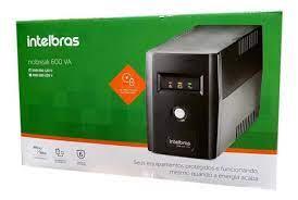 NoBreak Intelbras XNB 600VA Monovolt 120V