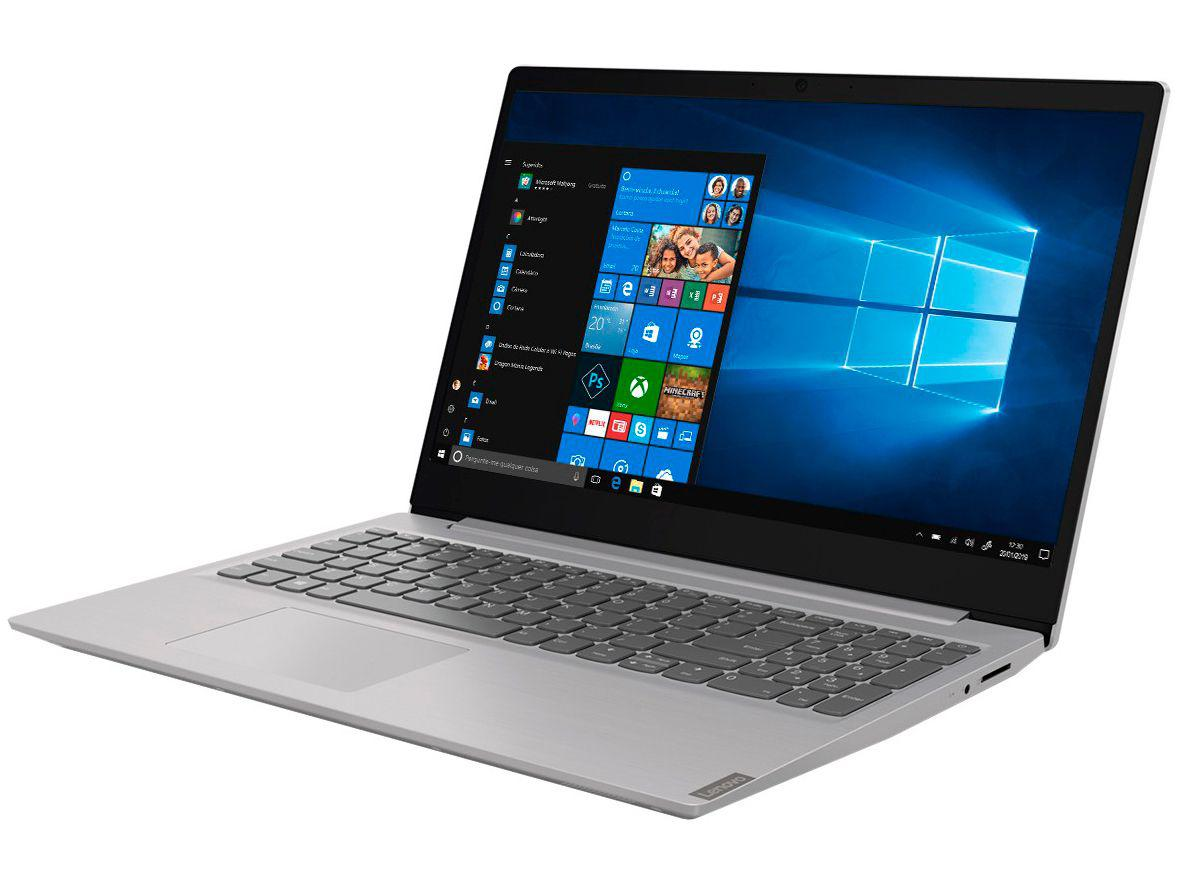 "Notebook Lenovo Ideapad S145 81XM0005BR - Intel Core i3 4GB 256GB SSD 15,6"" Windows 10"