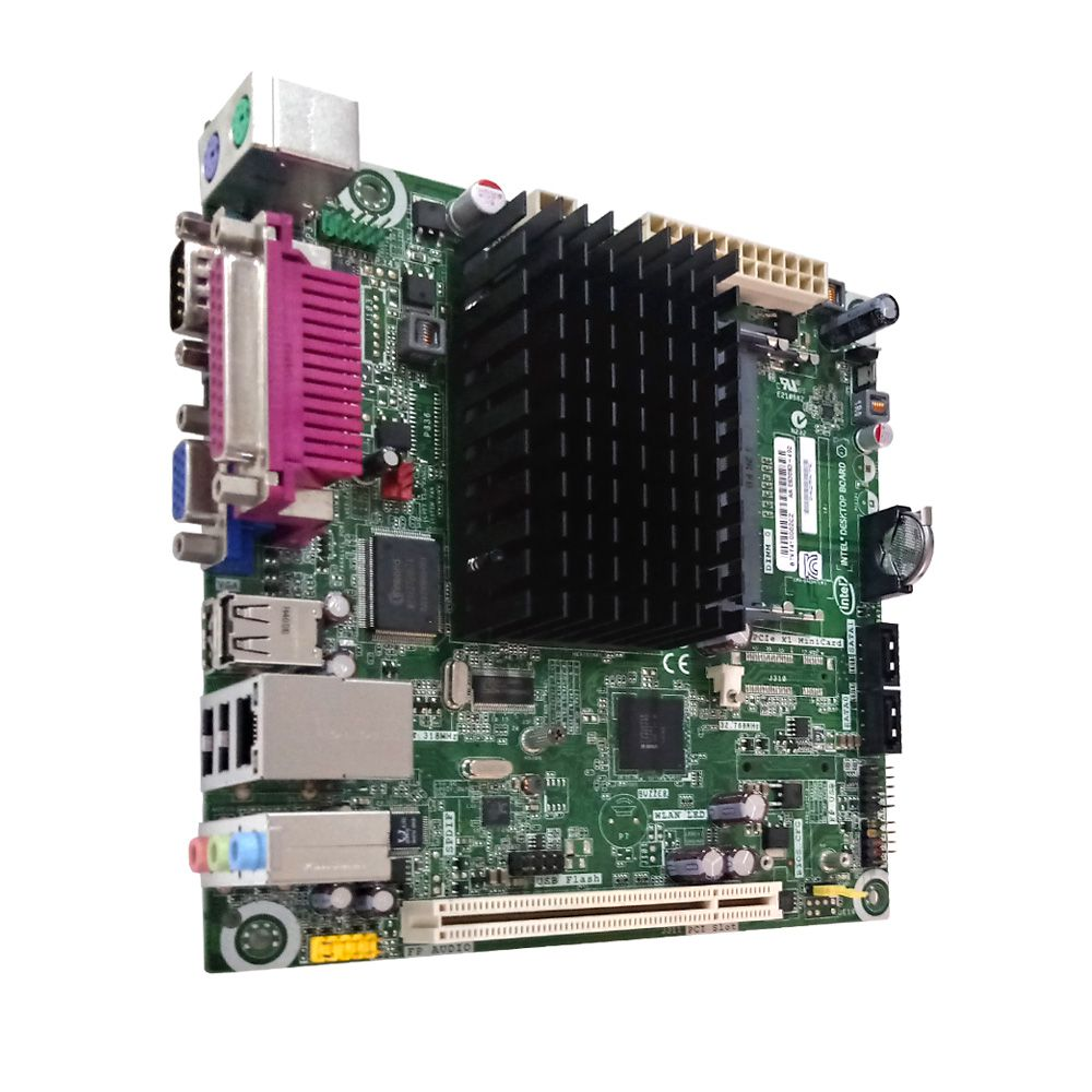 Placa Mae Integrada D425kte Ddr3 Dual Core Intel Micro Atx