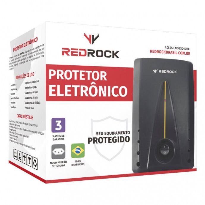 Protetor Eletrônico Monovolt Redrock - PM1318