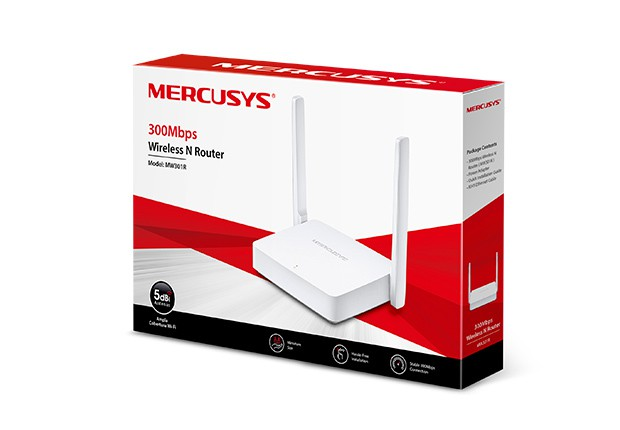 Roteador Mercusys 2 Antenas 300MBPS N300 MW301R