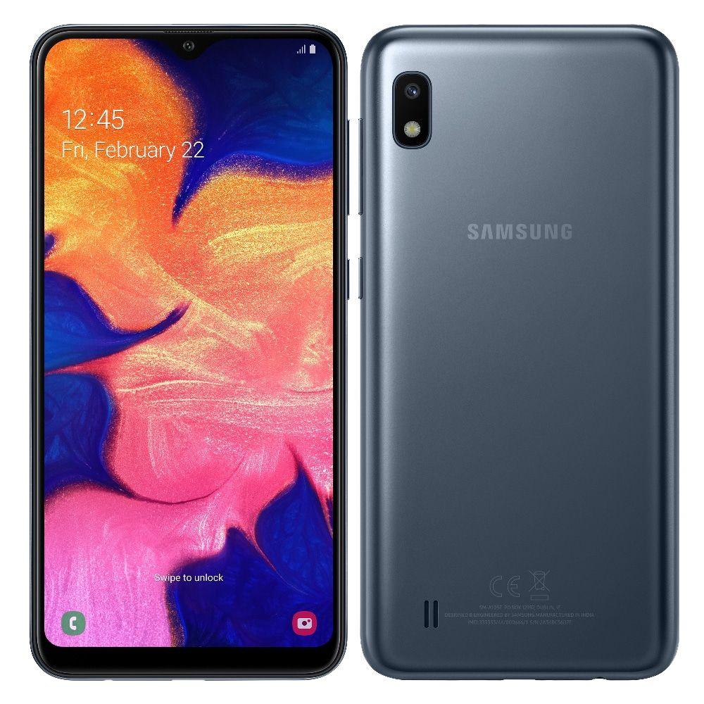 Smartphone Samsung Galaxy A10, Preto , A105M, 6,2