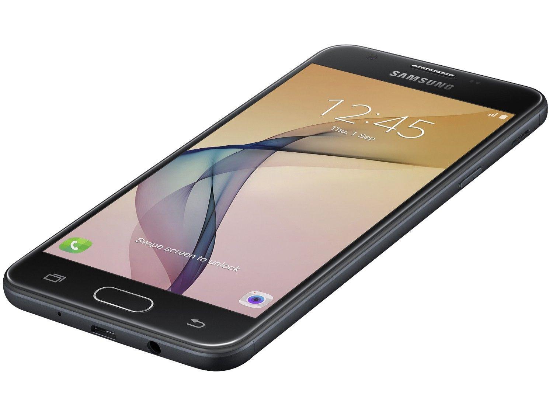 """Smartphone Samsung Galaxy J5 Prime Preto, 32GB, Tela 5"""", Leitor Digital, Câmera Frontal com Flash a LED, 4G, Dual Chip"""