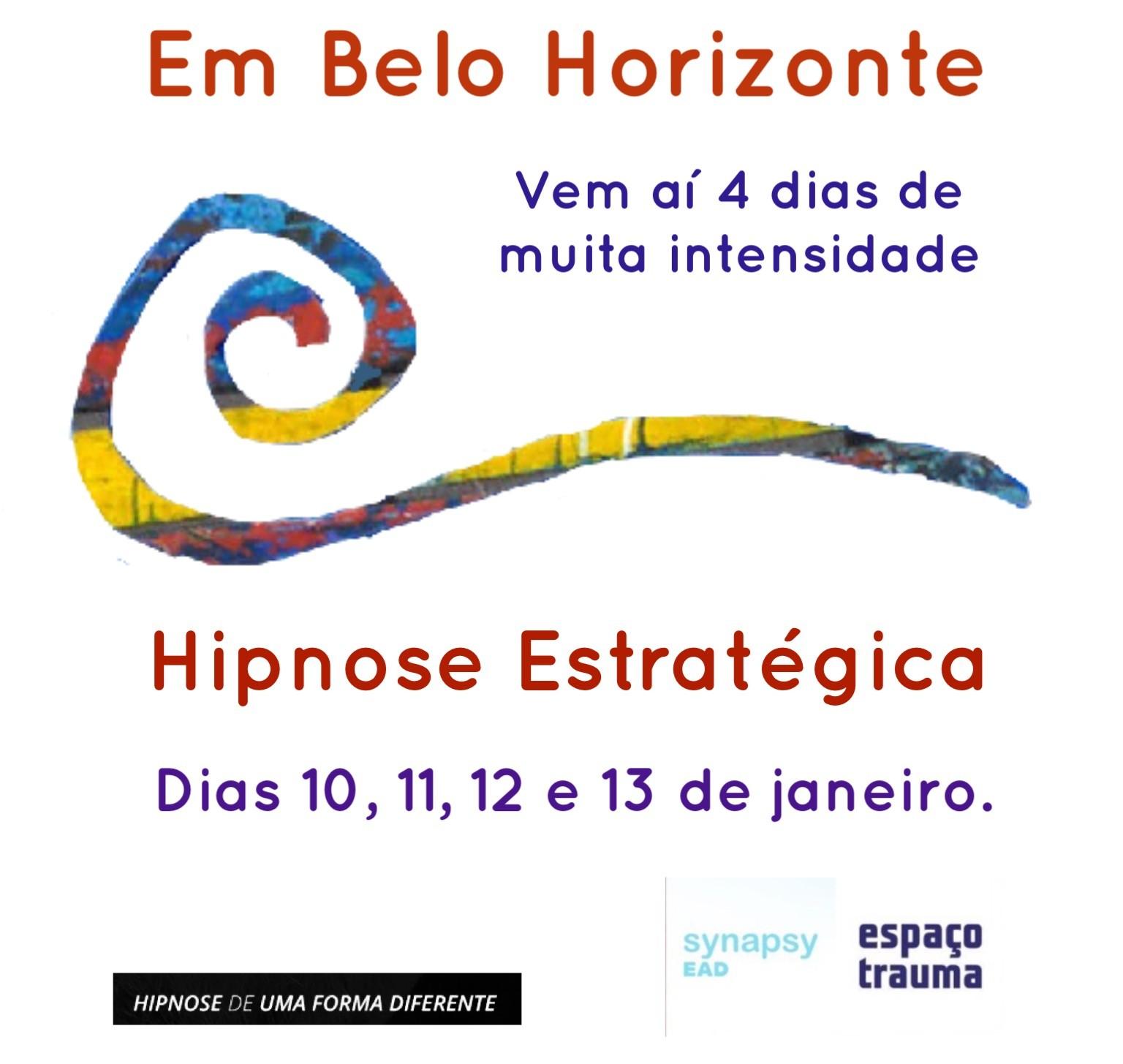HIPNOSE ESTRATÉGICA - BELO HORIZONTE
