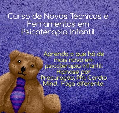 NOVAS TÉCNICAS E FERRAMENTAS PARA PSICOTERAPIA INFANTIL - GASTÃO RIBEIRO