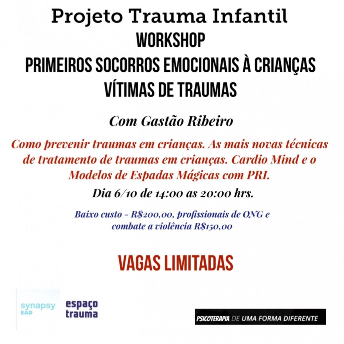 Primeiros Socorros Emocionais com Crianças Traumatizadas