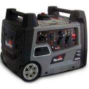 Gerador de Energia à Gasolina 3,0 KVA Portátil Silencioso TG3500I Partida Manual TOYAMA