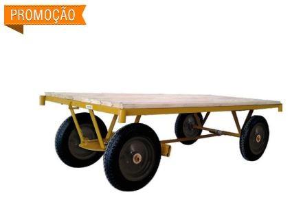 CARRINHO PLATAFORMA MP-600 600 KG MADEIRA